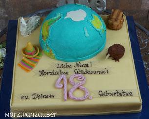 Geburtstagstorte, Torte Geburtstag, Eventtorte, Marzipanzauber, Winsen Lüneburg Harburg