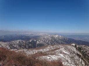 藤原・御池 国見岳から