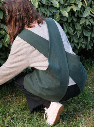 tablier de jardinage biologique organic garden apron