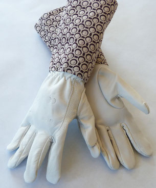 gants de jardinage cuir made in France