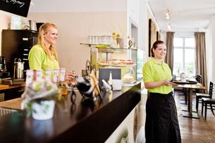 Mitarbeiterinnen Café Spindel