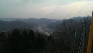 日原天文台からの眺望