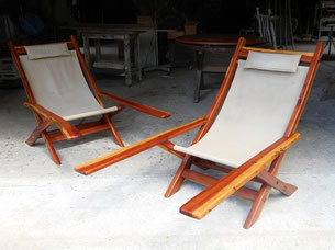 Lancewood squatters chairs   SOLD