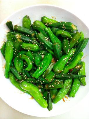 オクラ シシトウ 簡単 レシピ お弁当