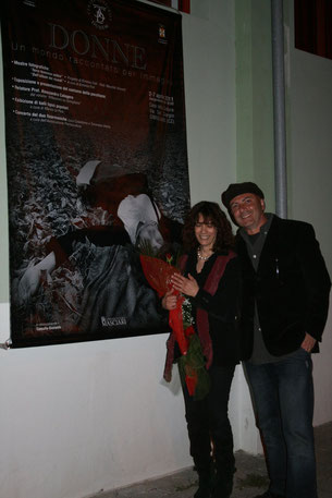 Inaugurazione: Donne, un mondo raccontato per immagini - con Maurizio Visconti - 2011