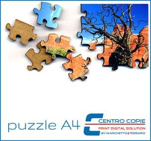 Centro Copie Bolzano-personalizzazione e stampa- puzzle A4
