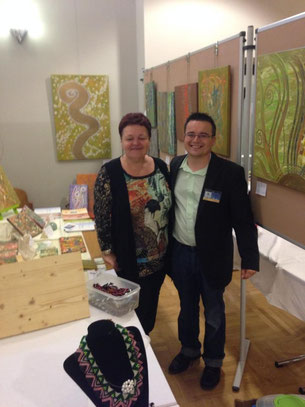 Herbstgalerie 2014 in Ebenurth mit Chris Allinger