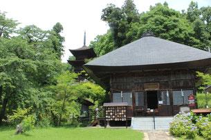大法寺 三重塔と観音堂
