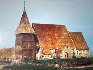 Kirche vor dem Abriss