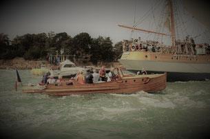 Rân III vent de suède balades originales bateau golfe du Morbihan