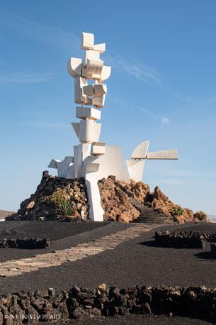 Lanzarote Cesar Manrique Monumente del Campesino