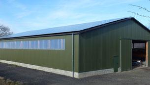 Photovoltaikanlage Bootsbau Sager 100% regenerative Energie