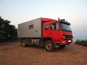 HoWeCa - LKW mit Wohnaufbau, Caravan, Absetzkabine, Bimobil, Tischer