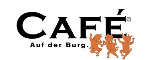 Cafe auf der Burg Logo