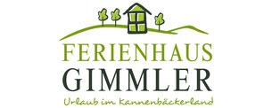 Ferienhaus Gimmler Logodesign Logos Grafik