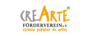 crearte Förderverein Logos Grafik Logodesign