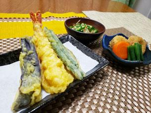 天ぷら盛り合わせ(※行事食)