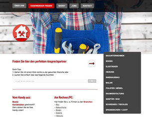 Bild mit Verlinkung zu http://www.profis-des-handwerks.de/handwerker-finden/