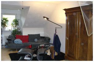 Wohnzimmer vor dem Home Staging
