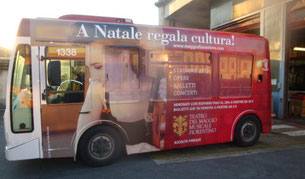 Bus in Italy with German violinist Lea Birringer