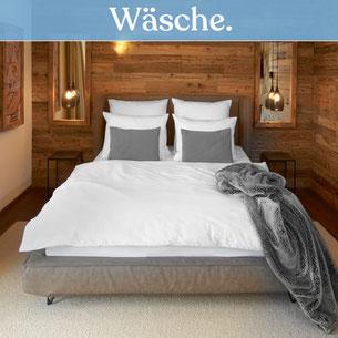 Hochwertige Hotelbettwäsche für den Textilservice sowie Bio Fairtrade Hotelwäsche