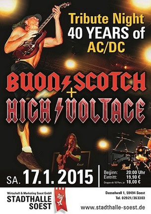 17012015 Tribute Night Stadthalle Soest Acdc Fan Club Gotm