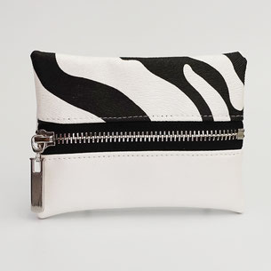 Motif zèbre noir et blanc - fait main