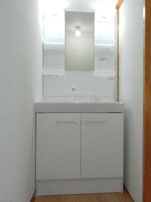 洗面化粧台:施工後の画像