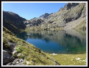 Boucle lacs de la Valmasque et  lac Vert de Fontanalbe (Mercantour)