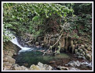 Cascade Paradis en Guadeloupe