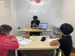 世田谷区カイカ祖師谷教室iPad
