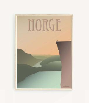 Norwegen Poster