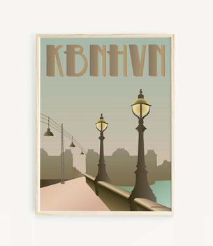 Kopenhagen Poster