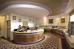 Hotel Vienna Frühstücksraum