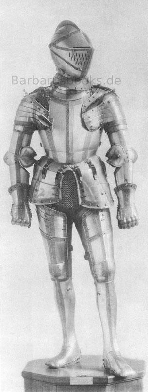 Ganzer Turnierharnisch, von ca. 1540.
