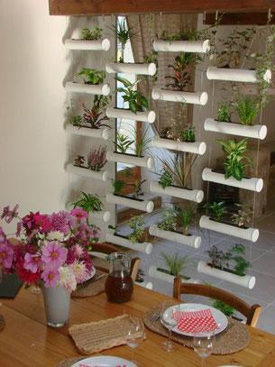 le rideau vegetal