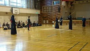 OB剣士の試合
