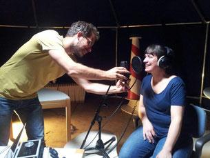 opnames Slierenlied Marlyn Coetsier met Joeri de Graaf