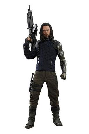 Hot Toys, Sideshow, Bucky Barnes, Infinity War, Avenger Endgame