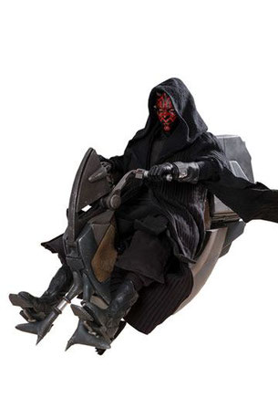 Hot Toys,Sideshow,Star Wars, Episode 1, 1/6, Darth Maul, Sith Speeder