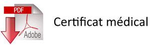 Certificat médical à télécharger