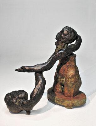 Figur 262, Bronze, 2015, 18x10x17,5