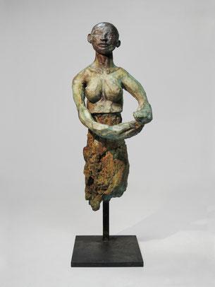 Figur 261, Bronze, 2015, 33,5x10x12cm