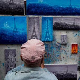 © Olivier Philippot Photo - Des échanges et des hommes - Echanges de regards