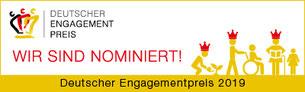 Logo Deutscher Engagemntpreis