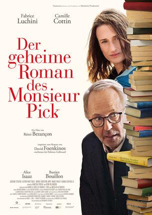 Der geheime Roman des Monsieur Pick Plakat