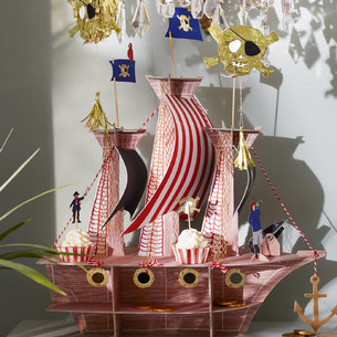DECORATION ANNIVERSAIRE PIRATE- PIRAT PARTY DECORATION