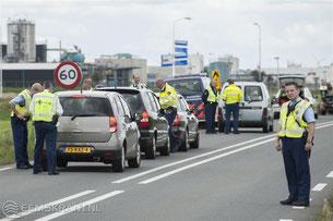 controles routiere par les flics neerlandais