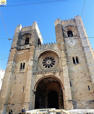 Catedral Sé - die älteste Kirche in LIssabon