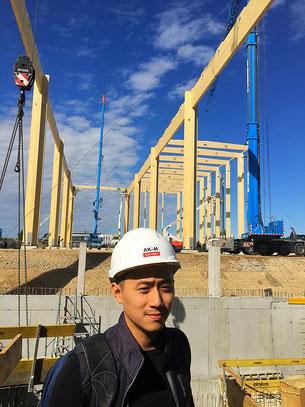 Industriehallenbau von AKM Bau